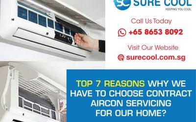 Top 7 Reasons Aircon Service Contract