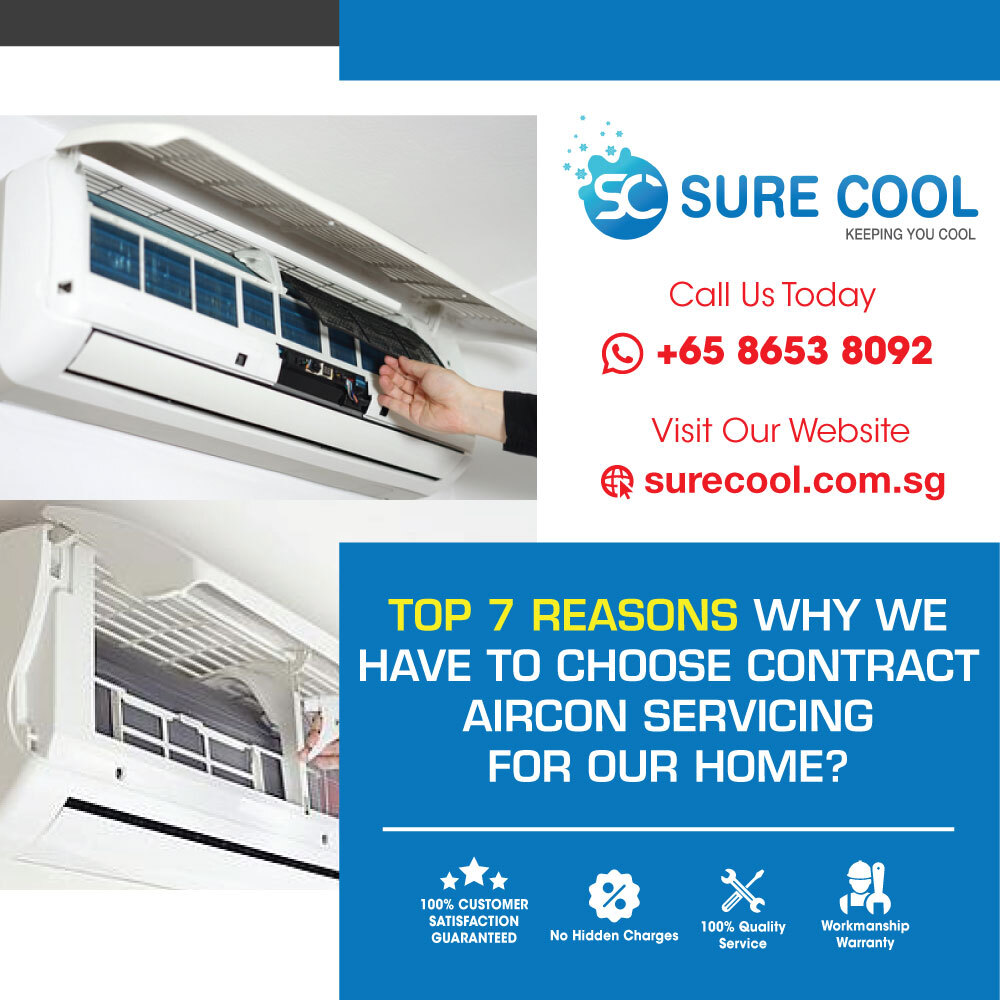 Top 7 Reasons Aircon Service Contract